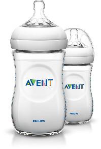 Philips Avent-Nappflaska Natural 260ml 2-pack