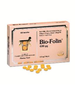 Folsyra - Bio-Folin 180 tabletter - Pharma Nord