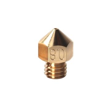 MK8 munstycke av mässing — 0.4mm — 1 st
