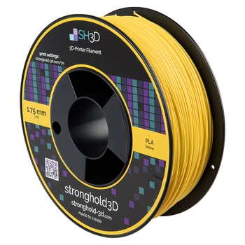 StrongHold PLA filament (1.75mm, 1Kg) — Gul