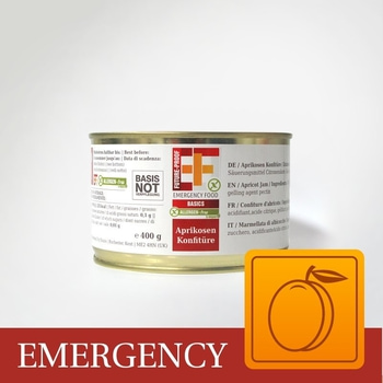 Convar Apricot Jam 400g 10 års hållbarhet